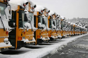 School-bus-covered-with-snow