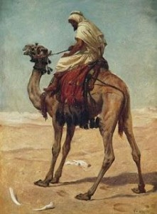 shiek on camel